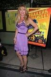 """在""""拖车从地狱""""展示党和名人Q&A,无声电影剧院,洛杉矶, CA. 07-10-11的Laurene Landon 图库摄影"""