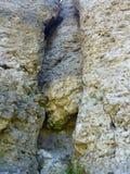 在一上升的区域frenkenjura的石灰石岩石 库存照片