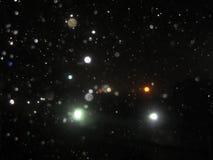 在一个不同的角度夺取的星 库存图片
