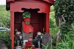 在一个公园附近的雕象东京塔的 库存照片