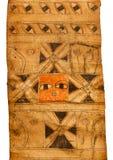 在一个埃赛俄比亚的不可思议的纸卷的护符 库存图片