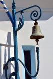在一个小正统教堂的响铃 免版税图库摄影