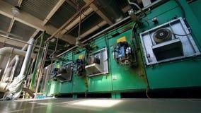 在一个工业工厂单位的透气机制 股票录像