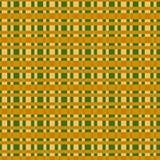 在一个方形的连续的样式的织品纹理 免版税库存图片