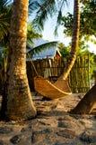 在一个热带海岛上。菲律宾 库存图片