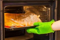 在一个特别袖子包装的新鲜的肉 免版税图库摄影