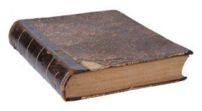 在一个空白背景查出的旧书 免版税库存图片