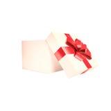 在一个空白背景查出的礼物盒 库存图片
