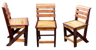 在一个空白背景的椅子。 免版税库存照片