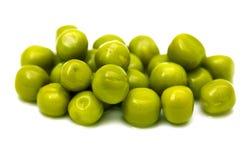在一个空白背景的绿豆 宏指令 库存图片