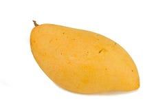 在一个空白背景的芒果 库存照片
