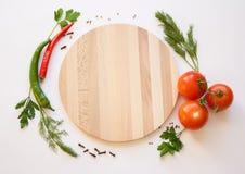 在一个空白背景的蔬菜 库存图片