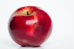 在一个空白背景的Apple 免版税库存图片
