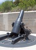 在一个老堡垒的大炮 图库摄影