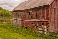 在一个老谷仓的秀丽的无限的故事 免版税库存图片