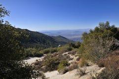 在一个谷的看法在南加州 库存照片