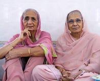 在一个锡克教徒的婚礼的场面 免版税库存照片