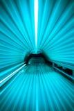 在一个附上的日光浴室里面 免版税库存图片