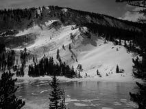 Backcountry滑雪 库存图片