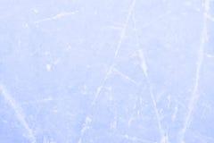 在一场滑冰的比赛以后的滑冰场背景 图库摄影