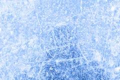 在一场滑冰的比赛以后的滑冰场背景 库存图片