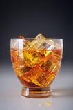 在冰的饮料 免版税库存图片