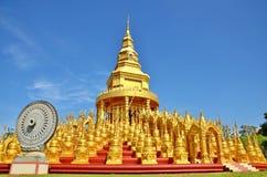 Wat Pa明亮的优点 库存图片