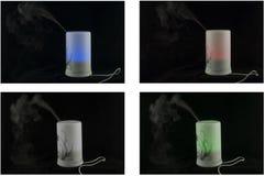 在一张图片的四台润湿器 免版税库存照片