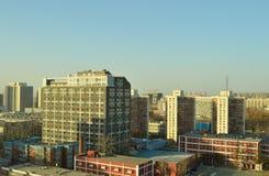 在一所大学的实验室大厦在北京 免版税库存图片