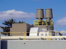 空调和热量单位 免版税库存照片