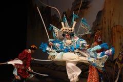 """在一支强有力的军队在杨Family†的北京Opera""""妇女一般 库存图片"""