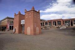 在一本大地图集顶部的市场,彻尔du Tichka,摩洛哥 库存图片