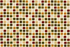 在一棵白色背景红色辣椒粉韭葱姜黄葱的各种各样的香料 免版税库存图片