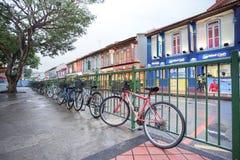 在一点印度镇,新加坡交易情况 免版税库存照片