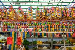 在一点印度,新加坡的礼品店 库存图片