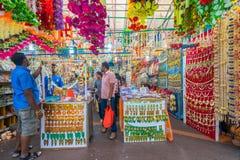在一点印度,新加坡的礼品店 库存照片