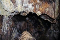 在一点Carpatiahns的Plavecka洞 库存图片