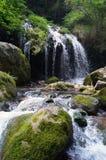 在三峡家庭的瀑布 免版税图库摄影