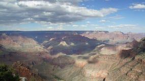 在下午末期的大峡谷 免版税库存照片