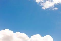 在下午的天空 库存照片