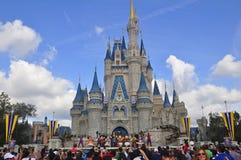 在不可思议的王国公园,华特・迪士尼世界手段奥兰多,佛罗里达,美国显示 免版税库存图片
