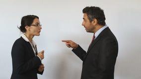 在不可能同意的律师之间的诉讼争执 股票录像
