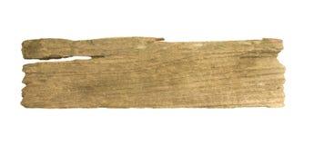 在与裁减路线的白色背景隔绝的木板条 库存照片