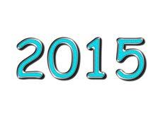 2015年在与绿松石宝石的银 库存图片