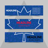 在世界杯曲棍球背景的枫叶  免版税库存图片