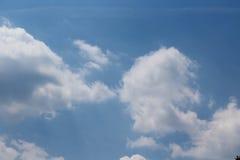 在世界的天空 库存照片
