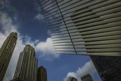 在世界贸易中心Oculus,纽约的建筑学 库存图片