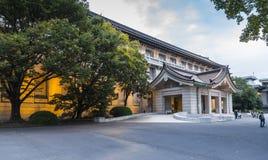 在东京国立博物馆的Honkan日本画廊 库存照片