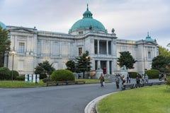 在东京国立博物馆的Hyokeikan大厦 免版税库存照片