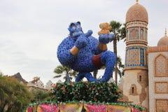 在东京迪士尼海洋游乐园的阿拉伯海岸 库存图片